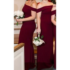 Katie May bridesmaid/gown